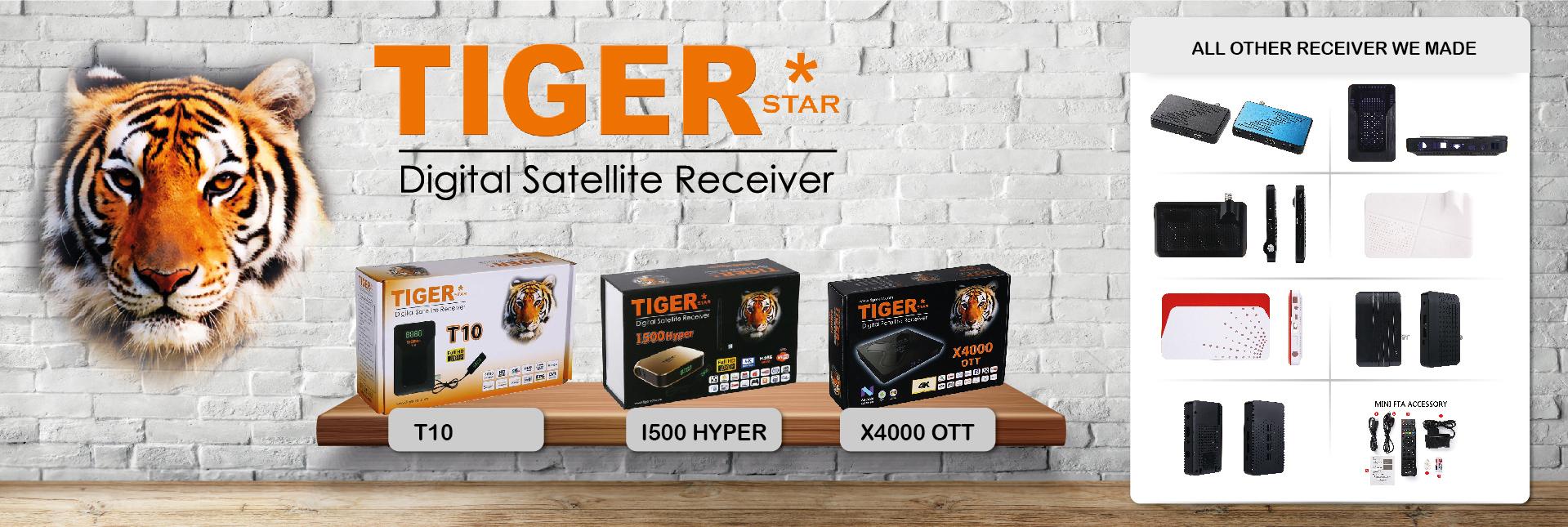 Digital Satellite Receiver_TIGER SMART DIGITAL SATELLITE RECEIVER